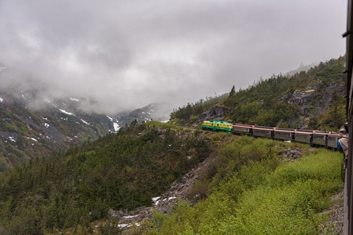 Train | White Pass Scenic Railway | White Pass & Yukon Route | Skagway | Alaska | Canada | Landscape | Wheelchair accessible