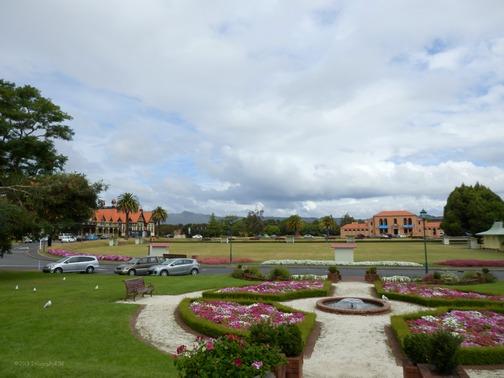 Rotorua Museum and Gardens, Rotorua, New Zealand (North Island) (Feb. 2013)