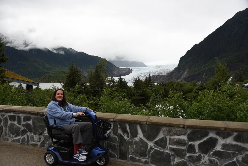 Mendenhall Glacier, Alaska, Alaskan Cruise, Celebrity Solstice, MS Foundation, wheelchair accessible, excursions, nature, adventure, education, wildlife, culture, highlights, Anything Is Possible Travel, Images by RJM