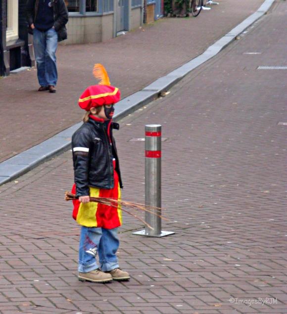 Waiting for Sinterklaas. Amsterdam, NL