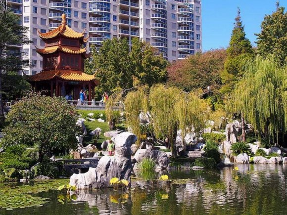 Wheelchair accessible | Sydney | Australia | Chinese Garden of Friendship | Darling Harbour