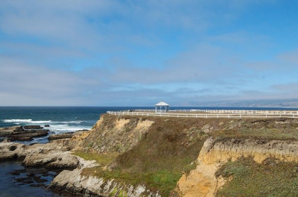 Lighthouse, Point Arena, gazebo, Mendocino County, Northern California, Images by RJM