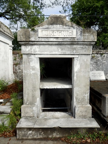 Lafayette Cemetery, New Orleans, Garden District, aboveground, burial, stone crypts mausoleums, tombs, historic, preservation, open tomb, City of the Dead, ©2015 ImagesByRJM
