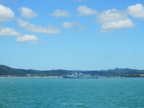 Naval presence, in honor of Waitangi Day