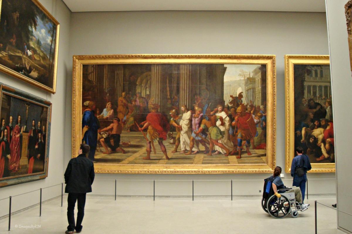 Louvre, Paris, France, art, accessible