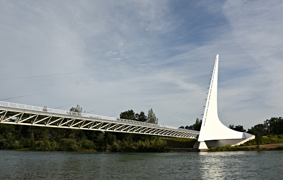 Bridge | Sundial Bridge | Santiago Calatrava | Redding, California | Northern California | Turtle Bay Exploration Park | Sacramento River | accessible | sundial