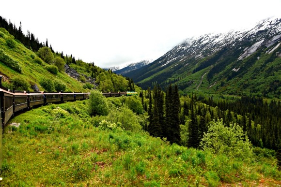 White Pass Railroad, Yukon Territory, Skagway, Alaska, Alaskan Cruise, Celebrity Solstice, MS Foundation, wheelchair accessible, excursions, nature, adventure, education, wildlife, culture, highlights, Anything Is Possible Travel, Images by RJM