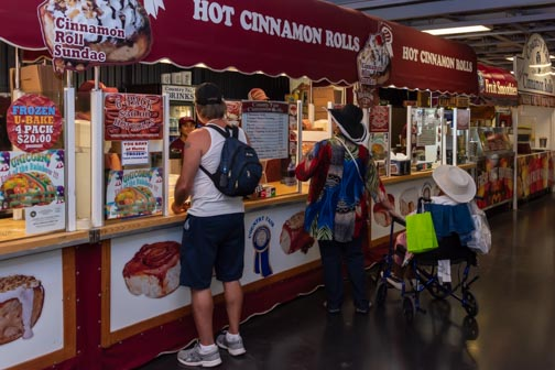 California State Fair | Don't Miss A Moment | Fair Food | Cinnamon Rolls | Sacramento | Images By RJM