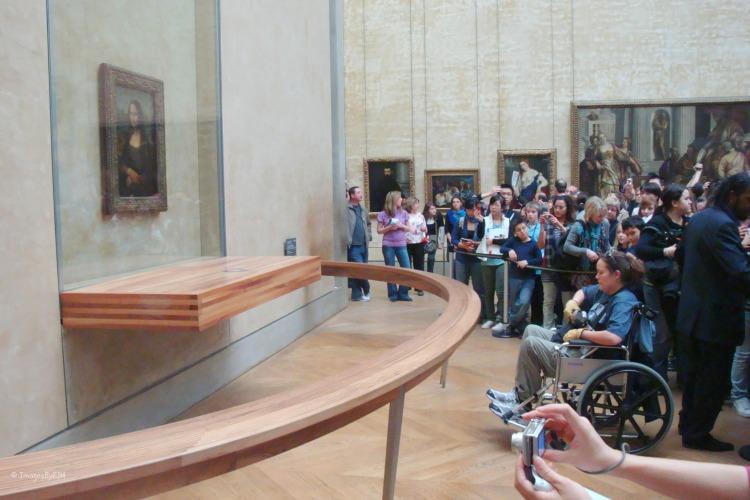 Mona Lisa, Louvre, Paris, France, art, accessible