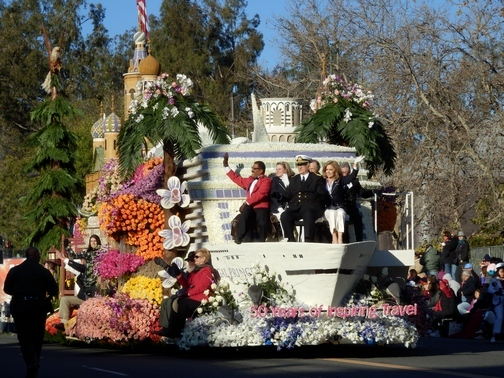 Inspiring Stories, Rose Parade, wheelchair accessible, Princess Cruises, float