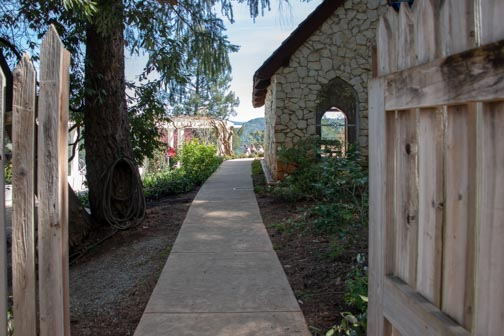 Crystal Hermitage | Ananda Village | Nevada City | Northern California | gardens | tulips | wheelchair accessible | chapel