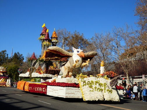 Inspiring Stories, Rose Parade, wheelchair accessible, Cal Poly, float