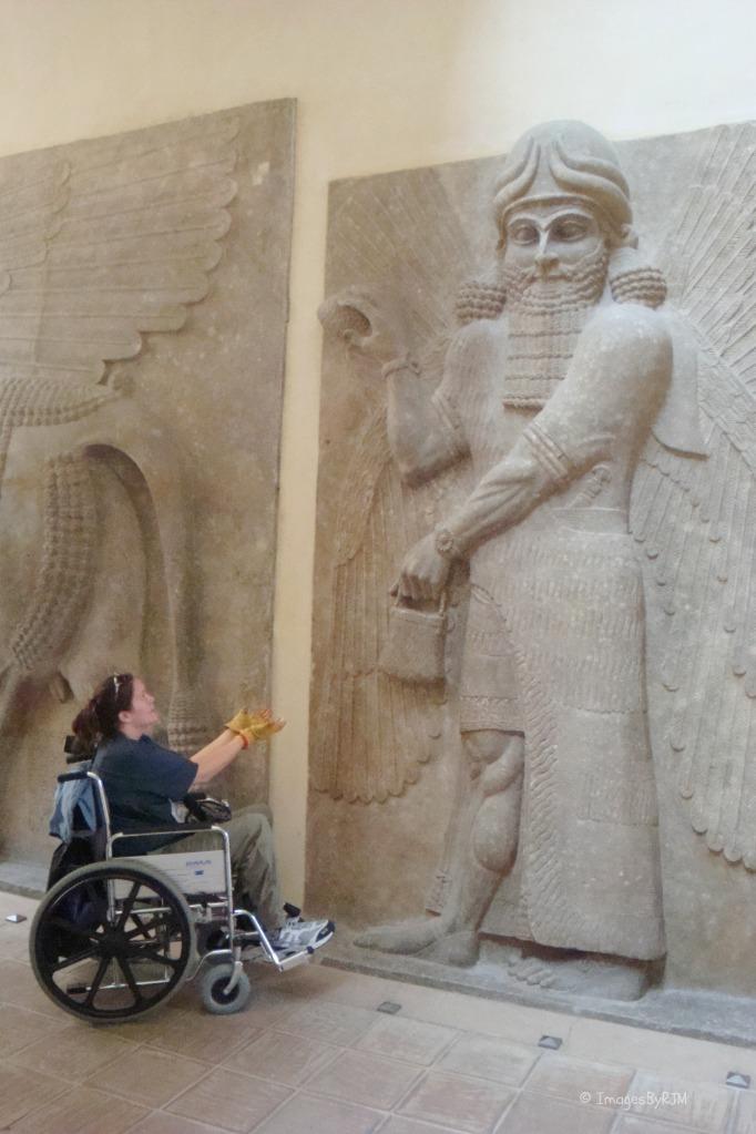 Louvre, Paris, France, art, sculptures, accessible