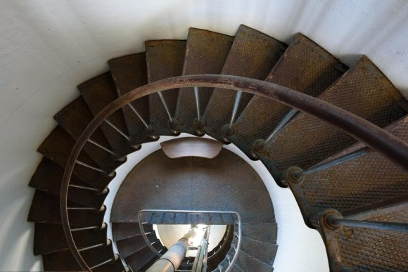 Lighthouse, Point Arena, stairs, spiral, Mendocino County, Northern California, Images by RJM
