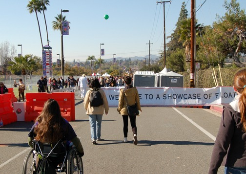 Inspiring Stories, Rose Parade, wheelchair accessible