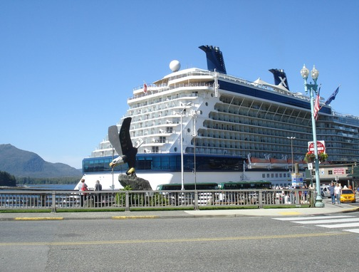 Docked at Ketchikan, AK