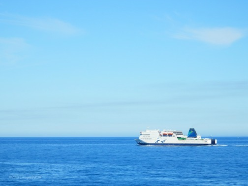 Interislander ferry, which runs between Wellington (North Island, NZ) and Picton (South Island, NZ) (Feb. 2013)