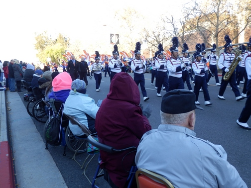 Inspiring Stories, Rose Parade, wheelchair accessible, marching bands