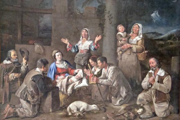Louvre, Paris, France, art, sculptures, accessible, Jean Michelin, Adoration of the Shepherds