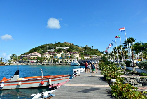 The Island of St. Martin - French and Dutch and Beautiful