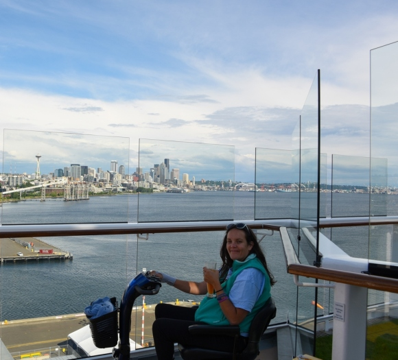 Seattle, skyline, Alaskan Cruise, Celebrity Solstice, MS Foundation, wheelchair accessible, excursions, nature, adventure, education, wildlife, culture, highlights, Anything Is Possible Travel, Images by RJM