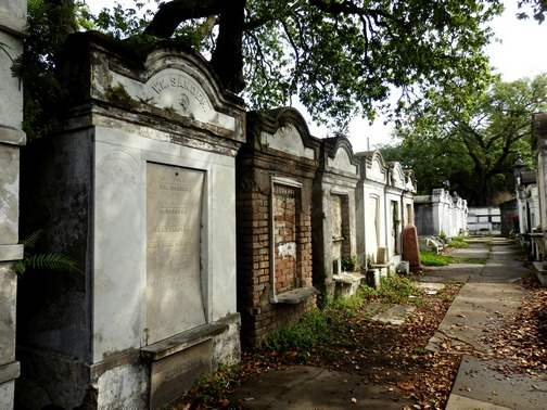 Lafayette Cemetery, New Orleans, Garden District, aboveground, burial, stone crypts mausoleums, tombs, family, historic, preservation, wheelchair accessibility, uneven walkways, City of the Dead, ©2015 ImagesByRJM