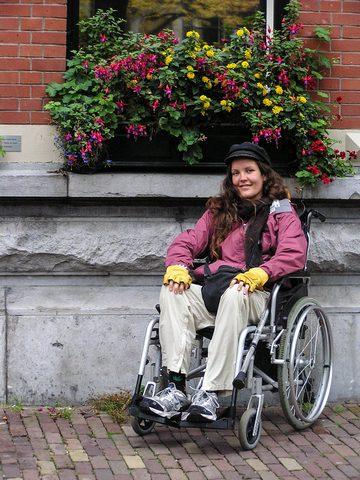 BPO Elks | Deer hide | Gloves | Fingerless Gloves | Wheelchair Accessory | Accessible Travel | Veterans | Amsterdam