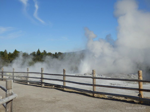Whakarewarewa Thermal Reserve, Rotorua, New Zealand (North Island) (Feb 2013)