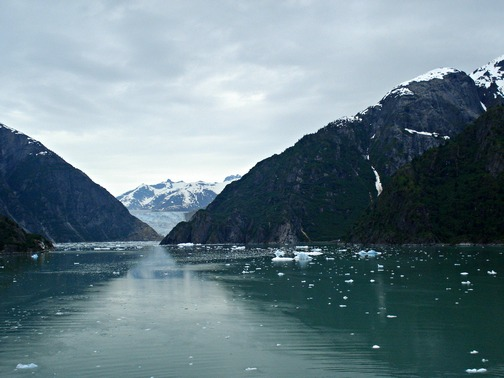 Sailing Tracy Arm Fjord