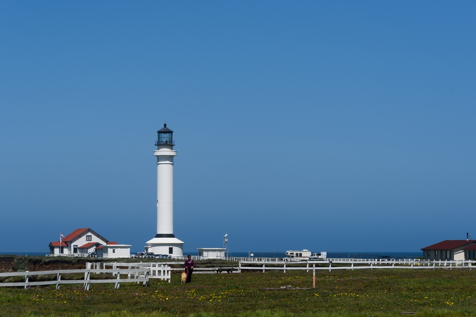 Lighthouse, Point Arena, wheelchair accessible, Mendocino County, Northern California, Images by RJM
