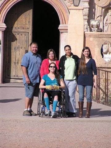 BPO Elks | Deer hide | Gloves | Fingerless Gloves | Wheelchair Accessory | Accessible Travel | Veterans | Tucson, Arizona | Mission San Xavier