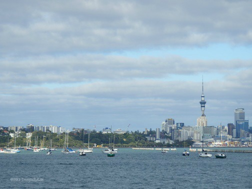 Auckland, the City of Sails. North Island, New Zealand (Feb. 2013)