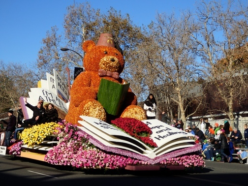 Inspiring Stories, Rose Parade, wheelchair accessible, Shriners float