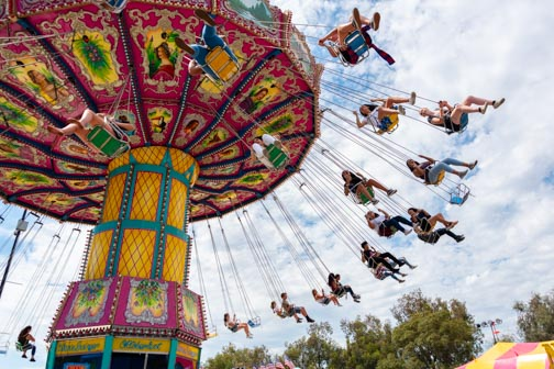 California State Fair | Don't Miss A Moment | Midway Rides | Butler Amusements | Sacramento | Images By RJM