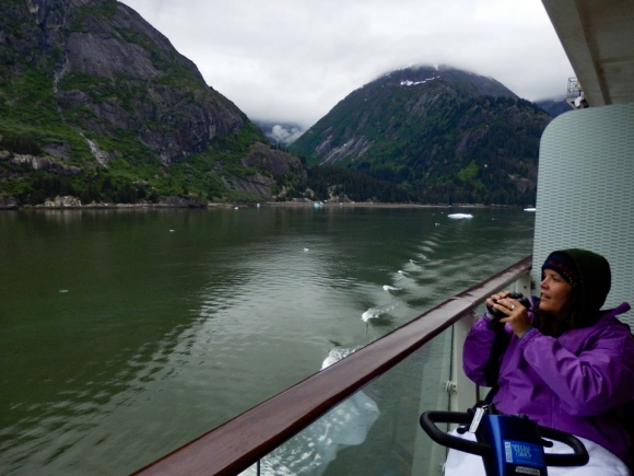Tracy Arm Fjord | Alaska | glacier | travel | nature | Alaskan cruise | May 2016 | Brent Nixon | glacial ice | ©2016 ImagesByRJM