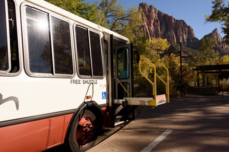 Zion National Park | Utah | Zion Canyon Shuttle | Wheelchair Accessible | Nature | Landscape | Canyon | October 2017 | Images by RJM