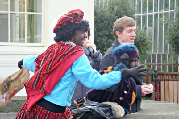 Arrival of Sinterklaas; Amsterdam, NL