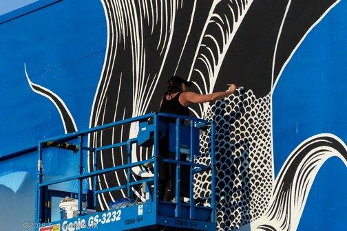 Street Art | Sacramento | Wide Open Walls | Artists | Mural Festival | Visit Sacramento | Maren Conrad