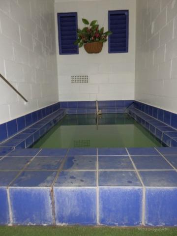 Mineral Pool at Union Victoria Motel, Rotorua, New Zealand (North Island) (Feb. 2013)