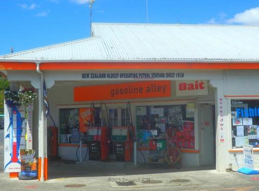 New Zealand's Oldest Operating Petrol Station - Built 1930