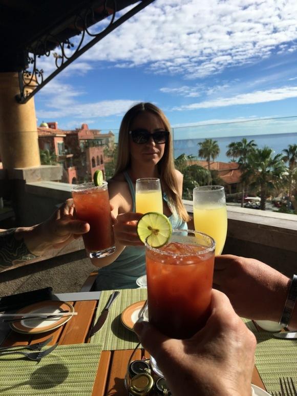 Cabo San Lucas | Baja Mexico | Christmas | Resort | Hacienda Del Mar | Sheraton Grand Los Cabos | mimosa | bloody mary