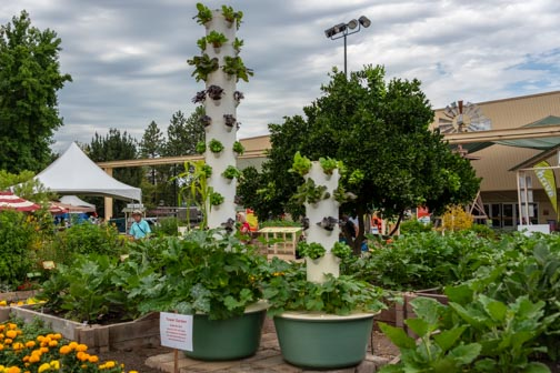 California State Fair | Don't Miss A Moment | Gardening Tower | Agriculture | Sacramento | Images By RJM