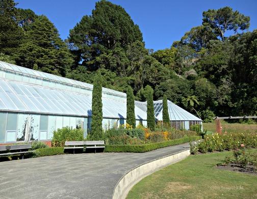 Begonia House and Gift Shop, Welllington Botanical Gardens, Wellington, New Zealand (North Island) (Feb. 2013)