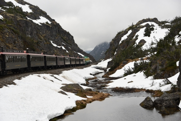 White Pass Railway, Yukon Territory, Canada, Alaska, Alaskan Cruise, Celebrity Solstice, MS Foundation, wheelchair accessible, excursions, nature, adventure, education, wildlife, culture, highlights, Anything Is Possible Travel, Images by RJM