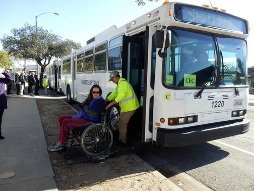 Inspiring Stories, Rose Parade, wheelchair accessible, shuttle