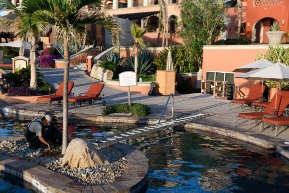 Cabo San Lucas | Baja Mexico | Christmas | Resort | Hacienda Del Mar | Sheraton Grand Los Cabos | wheelchair accessible | pool